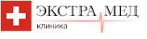 Логотип компании ЭкстраМед