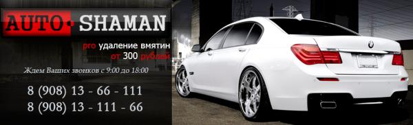 Логотип компании Auto-shaman