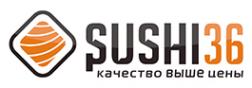 Логотип компании Sushi36