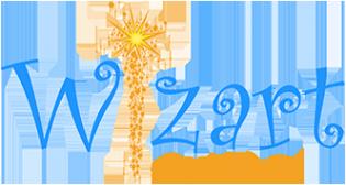 Логотип компании Wizart animation