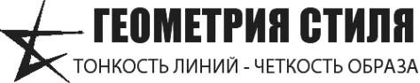 Логотип компании Геометрия стиля