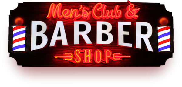 Логотип компании Men`s club & Barbershop