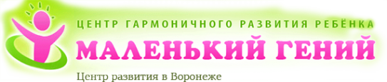 Логотип компании Маленький гений