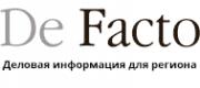 Логотип компании De Facto