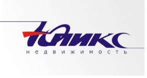 Логотип компании ЮПИКС. недвижимость