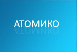 Логотип компании Атомико