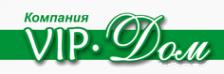 Логотип компании ВипДом